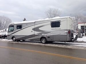 Luxurious Airstream XC360 Diesel Motorcoach with Bike Lift