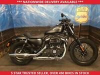 HARLEY-DAVIDSON SPORTSTER XL883 XL 883 IRON LOW MILS ONLY 2430 12 MONTHS MOT