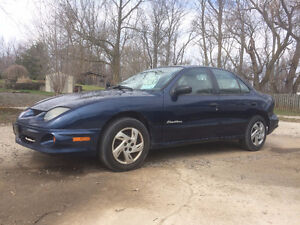 2001 Pontiac Sunfire Sedan - Certified/E-tested!