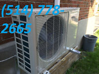 Heat Pump & Air Conditioner / AC / Thermopomes et climatiseurs
