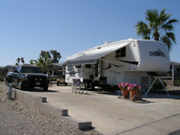 35 Foot Everest Fifth Wheel by Keystone.