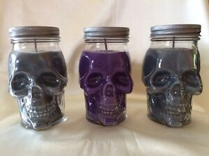 Awesome skull candles