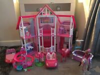 Large Barbie collection & accessories (dropped price from £80-£60)