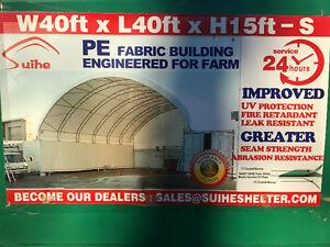 Heavy Duty 40x40 Double Truss Seacan Container Shelter Edmonton Edmonton Area image 1