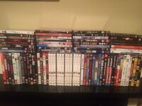 85 DVDs