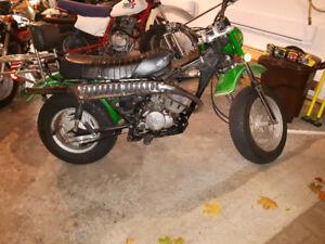 Suzuki Rv 125 ,2 motos, semi route, semi trail, mini trail