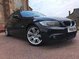 *3 MTHS WARRANTY*2010(60)BMW 320D M-SPORT TOURING ESTATE WITH LEATHER*