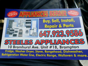 Repair and sell appliances