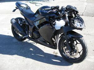 2013 kawasaki ex-300 ninja parts bike