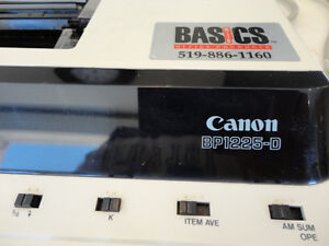 Canon BP-1225-D Desktop Calculator Adding machine -Works perfect Kitchener / Waterloo Kitchener Area image 4