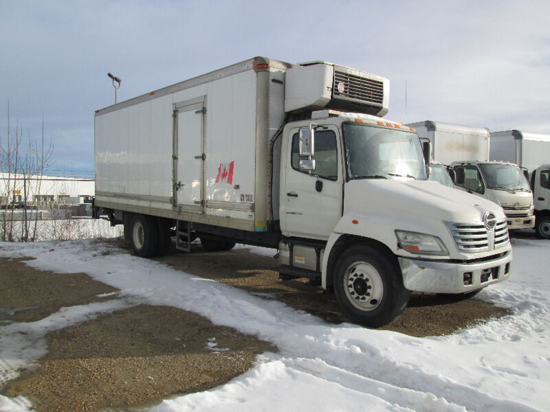 Kijiji Edmonton Heavy Trucks: Hino 383 Reefer Body Job For Sale