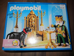 Playmobil #4256 Fairytale Castle King With Throne New Retired