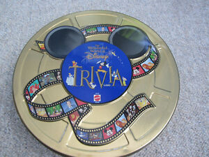 Wonderful World Of Disney Trivia Board Game In Collector Tin