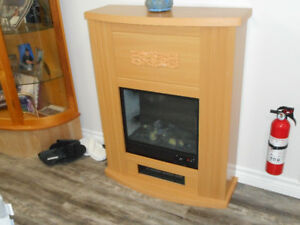 apartment size  electric fireplace heater