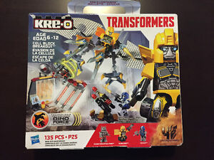 Transformers Bumblebee Optimus Prime Kre-O Construction Set