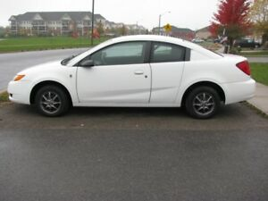 CERTIFIED READY TO GO. 2007 SATURN ION 4 DOOR COUPE