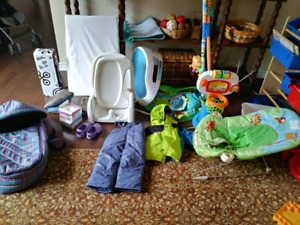 Baby and toddler items lot