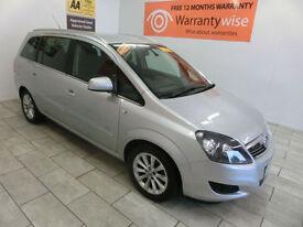 2013 Vauxhall/Opel Zafira 1.6i 16v VVT ( 115ps ) Design