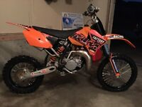 Ktm 85 race ready very fast lots of upgrades