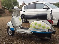2014 Vespa PX 125 - Very low mileage.