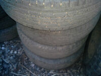 4 ... 245 75 R17 General tires ... (new take offs)