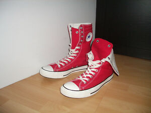 """Red high """"Convers all star """" KEDS ----- size 11 US lady"""