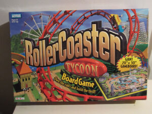 Roller Coaster Tycoon Board Game-VG Condition