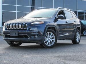 2016 Jeep Cherokee Limited 4WD | Navigation | Heated Leather