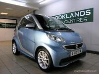 Smart ForTwo 1.0 CABRIO PASSION SEMI-AUTO [3X SMART SERVICES, SAT NAV, PANORAMIC