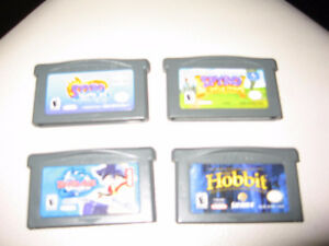 Nintendo Gameboy Advance Games Lot of 4