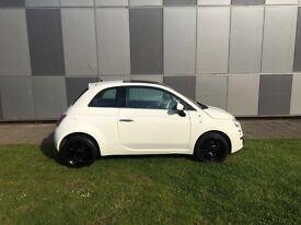 3 months warranty White fiat 500 1.2 petrol milage 50,000