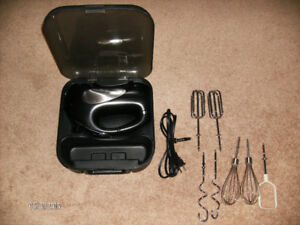 GE Hand Mixer with Attachments