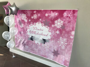 """1st Birthday """"Winter ONEderland"""" Party Items"""