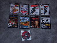 ps2 games  3 for $10   or all for $20.00