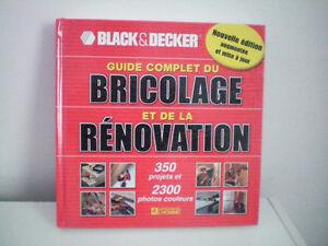 livre sur le bricolage et la renovation