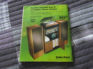 1979 Radio Shack Catalog- Intact and in VG Condition Peterborough Peterborough Area image 2