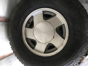 98 Chevy Taho Tires with Original rims