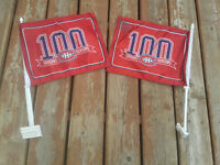 2 Montreal Canadiens car flags $25