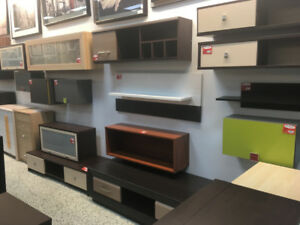 TV UNITS AND DISPLAY CABINETS – FINAL SALE – EUROPEAN