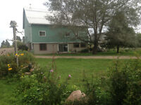 Walk out Basement Suit 20 mins from Bancroft on 26 acres