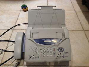 Brother intellifax 1270e fax/phone/copier machine used mint