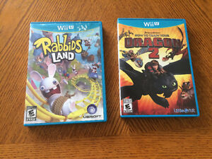 Rabbids land & How to train your dragon 2