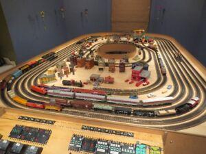 Trains électriques miniatures
