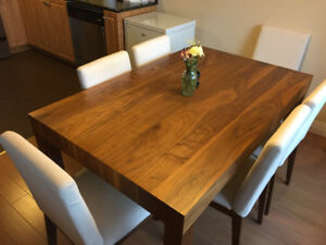 Beautiful Wooden Dining Set with 6 Chairs