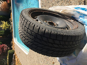 4x Toyo Observe Garit KX Winter tires 225/45 R17 + 4 free rims West Island Greater Montréal image 1