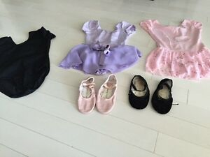 Ballet leotard and shoes