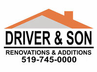 RENOVATIONS & ADDITIONS by DRIVER & SON