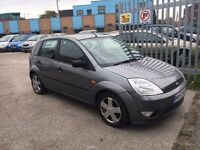 FORD FIESTA ZETEC 1.4 PETROL MANUAL 5. DOORS FULL SERVICE HISTORY