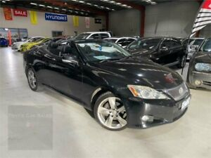 2010 Lexus IS GSE20R MY10 IS250 C Sports Luxury Black 6 Speed Sports Automatic Convertible Laverton North Wyndham Area Preview