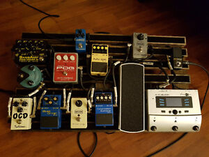 CUSTOM MADE PEDAL BOARDS EXACT TO YOUR SPECIFIC NEEDS AND SIZE
